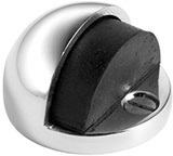 Satin Nickel Floor mounted door stop