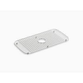 "Stainless Steel Stainless Steel Sink Rack, 13-3/4"" X 27-1/2"" for Undertone and Verse Kitchen Sinks"