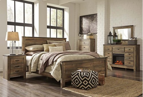 Trinell - Brown 3 Piece Bed Set (King)