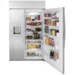 "GE GE Profile™ Series 48"" Smart Built-In Side-by-Side Refrigerator with Dispenser"