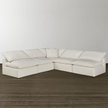 Envelop Armless L-Shaped Sectional