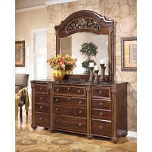 Gabriela - Dark Reddish Brown 2 Piece Bedroom Set