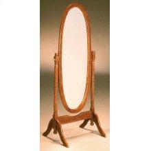 Oak Cheval Mirror