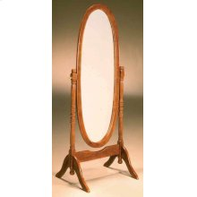 Oak Cheval Mirror