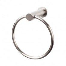 Hopewell Bath Ring - Brushed Satin Nickel