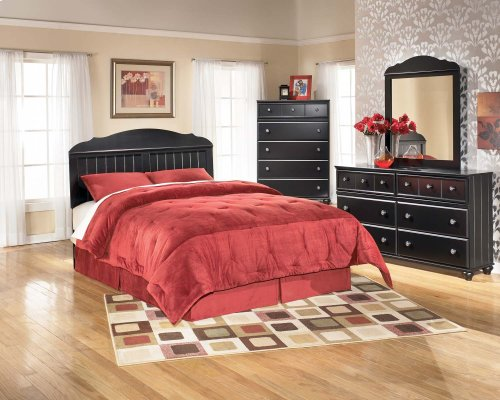 Jaidyn - Black 2 Piece Bedroom Set