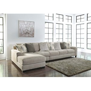 Ashley Furniture Ardsley - Pewter 3 Piece Sectional