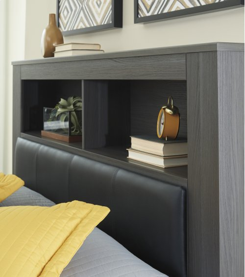 Queen UPH Panel Bookcase HDBD
