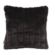 "16"" x 16"" Pillow Mink Black"