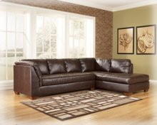 CLEARANCE!!  Bonded-Leather 2 Piece Secional