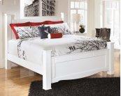Weeki - White 4 Piece Bed Set (King)