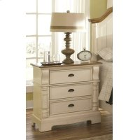Oleta Cottage Three-drawer Nightstand Product Image