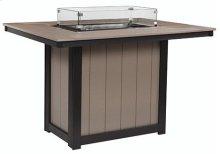 Donoma Rectangular Fire Table Counter