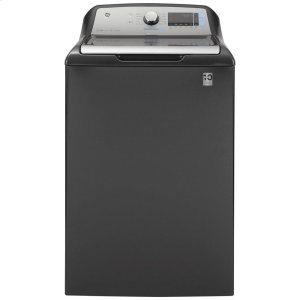 GE®5.2 cu. ft. Capacity Smart Washer with Sanitize w/Oxi and SmartDispense