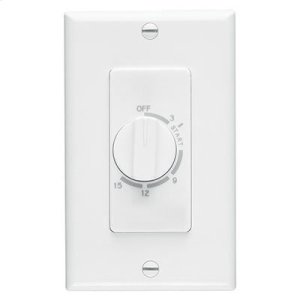 Broan15 Minute Time Control, White, 20/10 amps, 120/240V