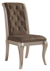 Birlanny - Silver Set Of 2 Dining Room Chairs