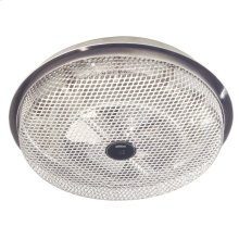 Fan-Forced Ceiling Heater, Aluminum; Low-profile , Enclosed Sheathed Element, 1250W, 120VAC.