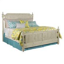 Weatherford Cornsilk Westland King Bed - Complete