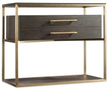 Bedroom Curata One-Drawer Nightstand