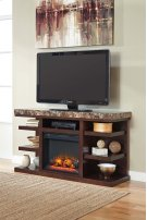 Kraleene - Dark Brown 2 Piece Entertainment Set Product Image