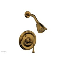 COINED Pressure Balance Shower Set - Lever Handle 208-21 - French Brass