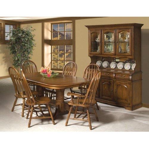 Oak Large China Cabinet