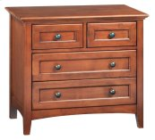 GAC 4-Drawer McKenzie Nightstand