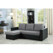 Baylor Casual Grey Sofa Product Image