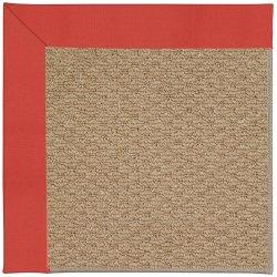Creative Concepts-Raffia Canvas Paprika Machine Tufted Rugs