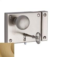 Vintage Brass 5704 Small Horizontal Rim Lock
