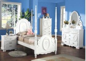 Kit- Flora Twin Post Bed
