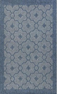 """Farmhouse 3203 Blue Mosaic 5' X 7'7"""""""