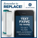 GE Replacement Water Filters - Dual Stage Undersink Systems