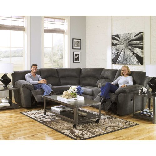 2 Pc Reclining Sectional