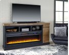 Tonnari - Two-tone Brown 2 Piece Entertainment Set Product Image
