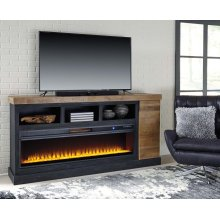 Tonnari - Two-tone Brown 2 Piece Entertainment Set