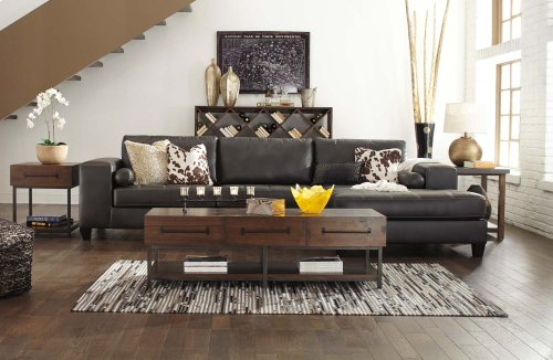 Nokomis - Charcoal 2 Piece Sectional