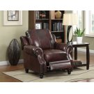 Princeton Traditional Burgundy Push Back Recliner Product Image