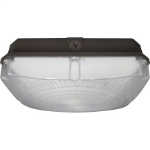 "28W LED 8.5"" Outdoor Canopy Fixture"