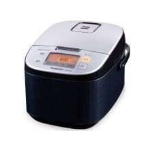 10 Cup (uncooked) Microcomputer Controlled Rice Cooker - Black - SR-ZX185