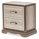 Upholstered Nightstand Amazon Tan Gator Product Image