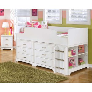 AshleySIGNATURE DESIGN BY ASHLEYLulu - White 5 Piece Bedroom Set