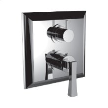 """7098ed-tm - 1/2"""" Thermostatic Trim With 3-way Diverter Trim (shared Function) in Polished Chrome"""