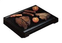 "Cast Iron Steak Pan, Large - Ribbed (A00602), Flat (A00608) 11"" x 13 1/2"""