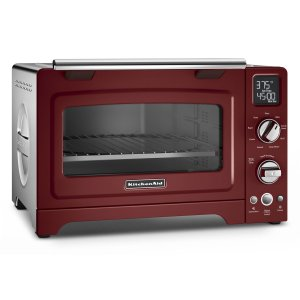 "KitchenAid12"" Convection Digital Countertop Oven Gloss Cinnamon"
