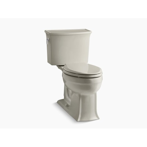 Sandbar Comfort Height Two-piece Elongated 1.28 Gpf Toilet With Aquapiston Flushing Technology, Seat Not Included