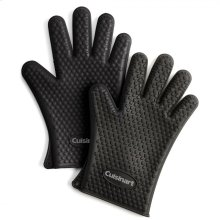 Heat Resistant Silicone Gloves (2-Pack)