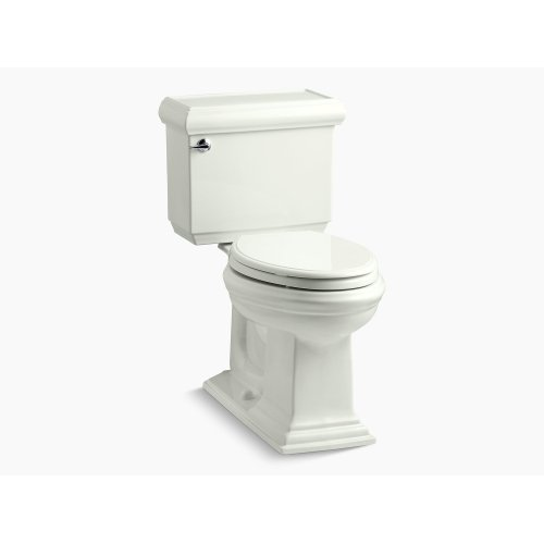 Dune Comfort Height Two-piece Elongated 1.28 Gpf Toilet With Aquapiston Flushing Technology, Left-hand Trip Lever and Insuliner Tank Liner, Seat Not Included