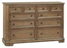 RGB 10-Drawer Stonewood Dresser