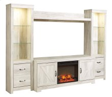 Bellaby - Whitewash 5 Piece Entertainment Set
